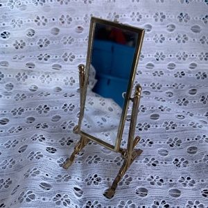 Vintage tiny mirror